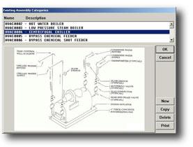 On-Screen Mechanical assemblies